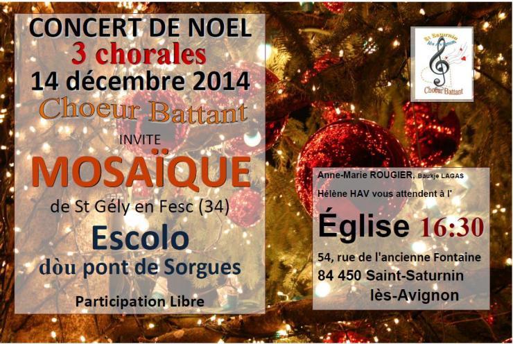 Noel 2014 3 chorales